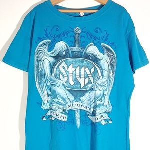 Styx North American Tour Concert T-shirt